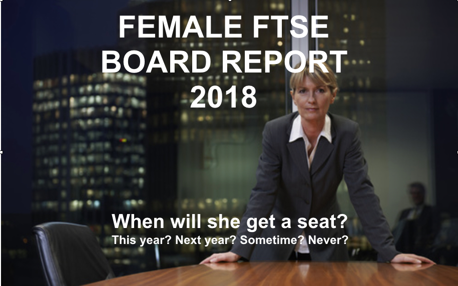 Female FTSE Board Report 2018